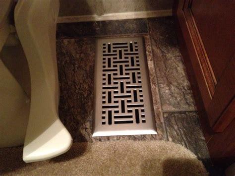 bathroom register vent traveling talleys