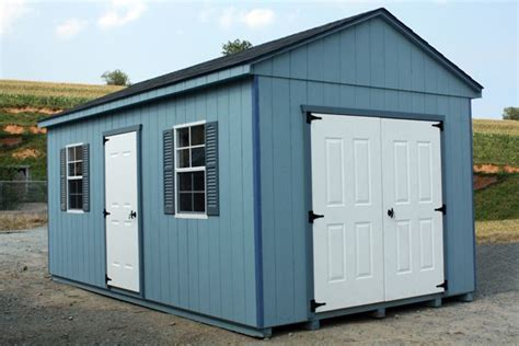 a frame storage shed 10x12