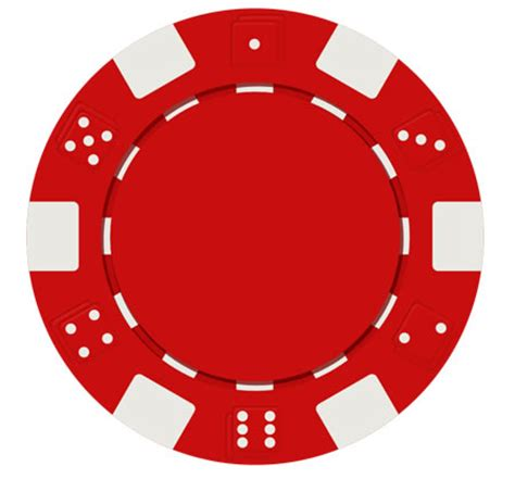 red poker chip psd and icon download