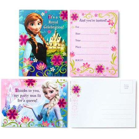 hallmark card envelope templates hallmark disney frozen invitations with envelopes