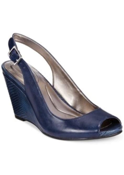 dress wedge sandals style co style co babeta slingback dress wedge sandals