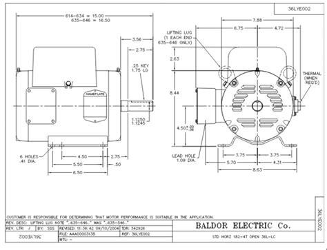 Baldor Motor Wiring Diagram Single Phase Impremedia Net