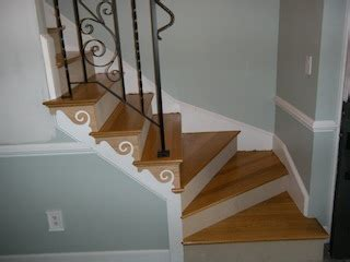 installing hardwood staircase winders how to construct