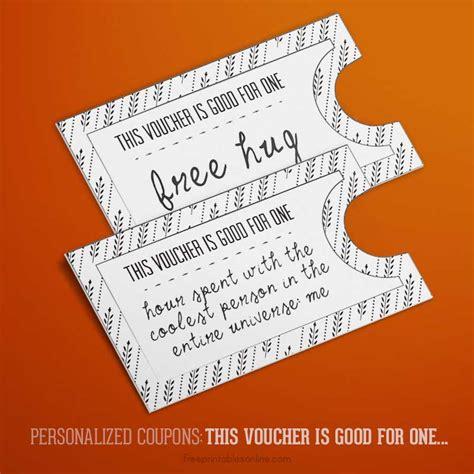 iou coupons foliage for one iou voucher free printables