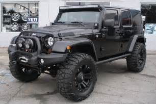Jeep Rubicon Pics 2013 Custom Black Jeep Wrangler Unlimited Rubicon For Sale