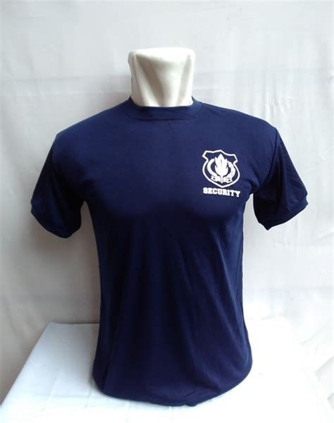 Kaos Polo Security jual kaos security polos biru dongker niyansuri
