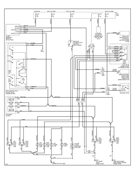 nissan xterra headlight wiring diagram 28 images 2004