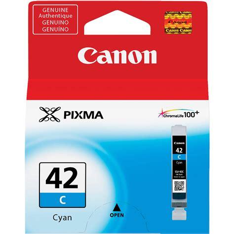 Canon Cartridge Cli 42 Cyan canon cli 42 cyan ink cartridge 6385b002 b h photo