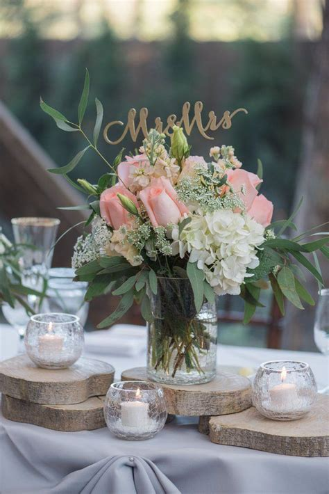 958 best rustic wedding centerpieces images on