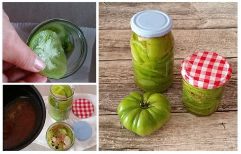 Gr Ne Tomaten Einkochen 5334 by F 252 R Die Speisekammer Eingelegter Wintersalat Aus Gr 252 Nen