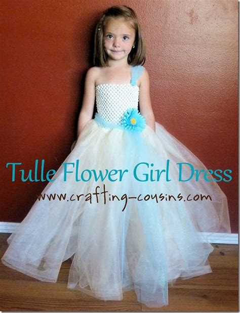 organza dress tutorial tulle flower girl dress tutorial from the crafty cousins