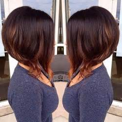 brown and ombre with a line hair cut 20 brunette bob hairstyles 2014 short hairstyles 2016