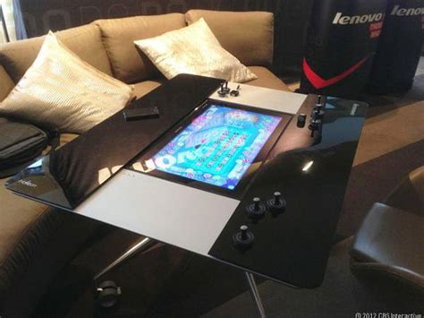 Tablet Coffee Table 27 Inch Table Pc From Lenovo