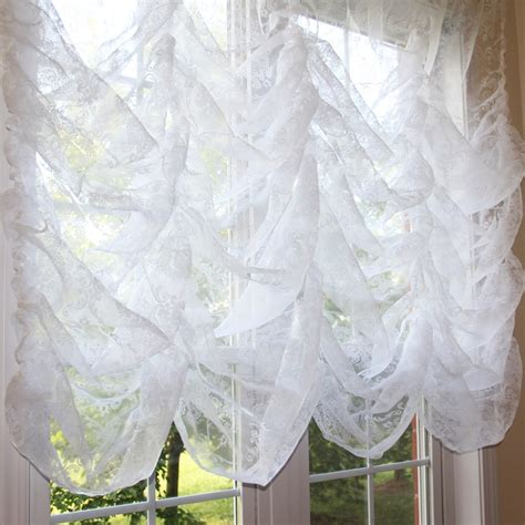 balloon curtain austrian curtain
