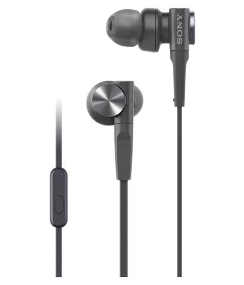 Sony In Ear Bass Xb sony mdr xb55ap premium bass xb in ear wired