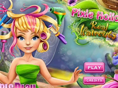 Tinkerbell Haircuts Games | tinkerbell real haircuts tinkerbell games