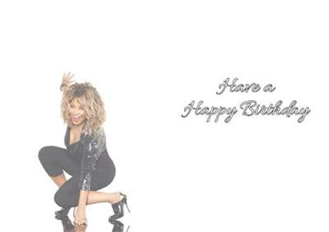 Tina Turner Birthday Card Personalised Tina Turner Birthday Card Ebay