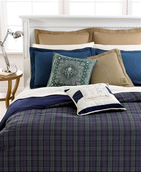 lauren ralph lauren bedding ralph blackwatch comforter shopstyle home