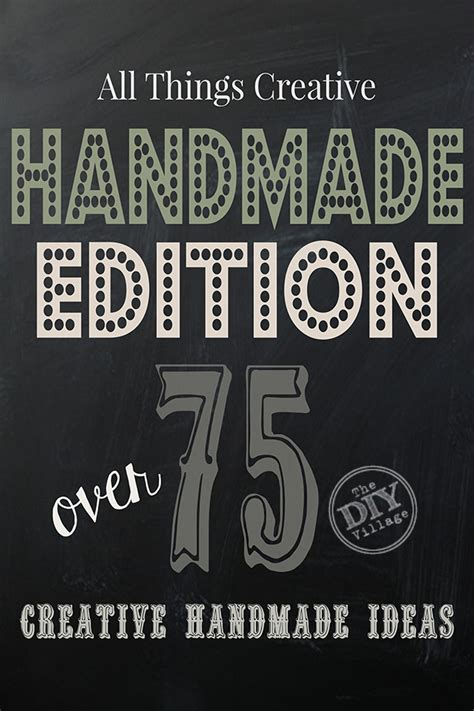 All Things Handmade - all things handmade all things creative handmade edition