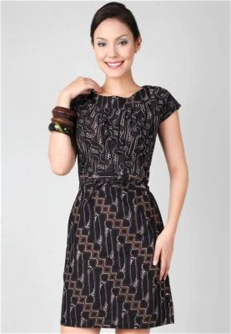 Mini Dress Back Batikmini Dressdress Hitam Kombinasi 121 best dress batik images on indonesia