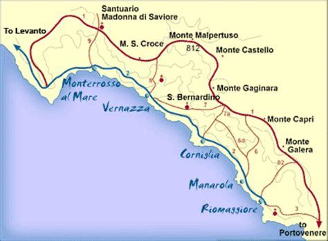 cinque terre italy map cinque terre and parma