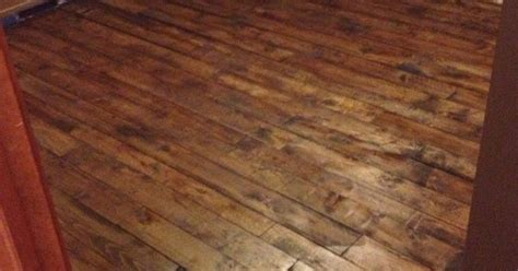 Pallet Board Flooring by Floor Made Of Pallet Crib Boards Drum Sanded