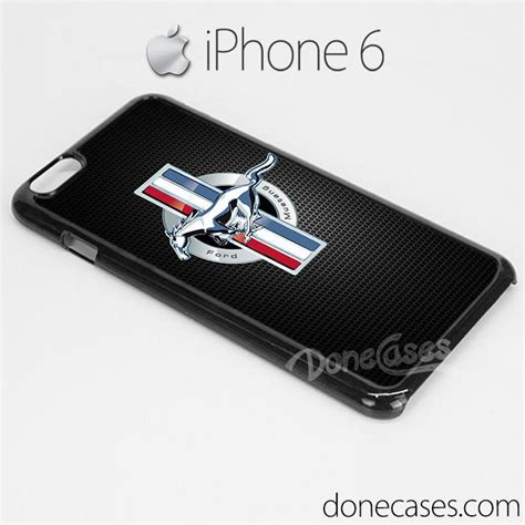 Casing Iphone 6s Ford Mustang Shelby Custom ford mustang logo carbon style iphone 6 iphone 6 plus custom iphone 5 iphone 4