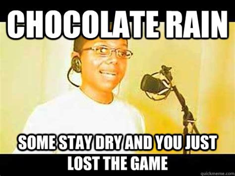 Chocolate Rain Meme - team giga pudding chocolate rain