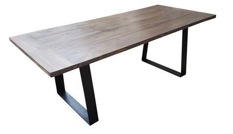 Modern Industrial Dining Table Modern Industrial Dining Table Chairish