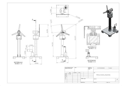 solidworks tutorial wind turbine specifications and design cal wind seekers
