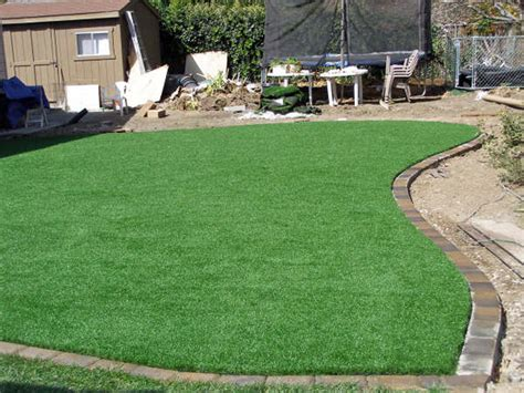 installing turf in backyard installing artificial grass carmine texas landscape