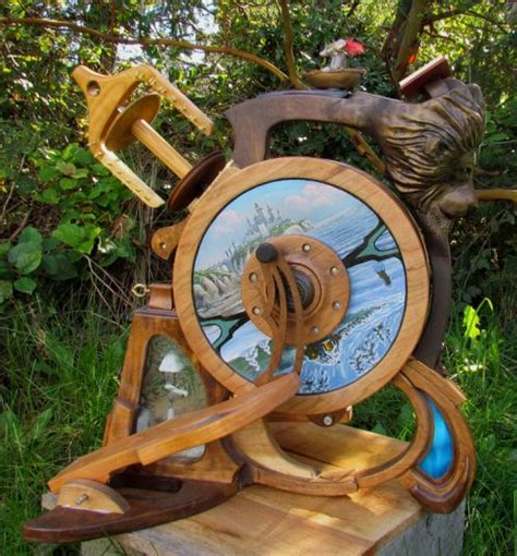 Handmade Spinning Wheel - pin by lori wichman on spinning