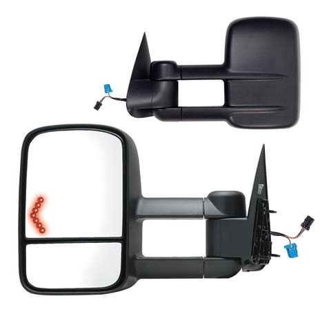 gmc 2500hd 2003 2006 extendable towing mirrors k