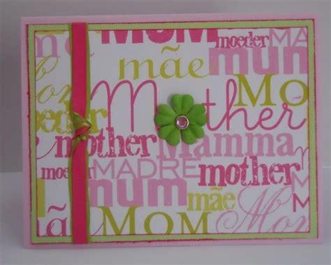 homemade mothers day card homemade mothers day greeting card ideas family holiday