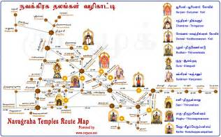 map temple foot steps kumbakonam navagraha temple tour more