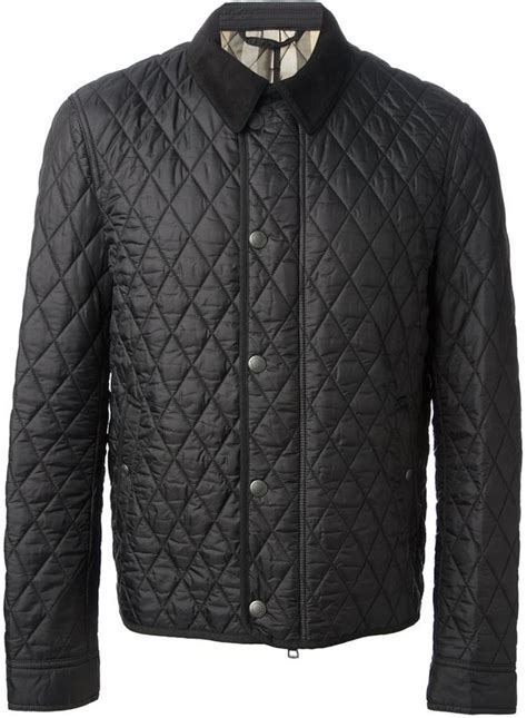 Burberry Quilted Barn Jacket by Black Quilted Barn Jacket Burberry Brit Quilted Jacket