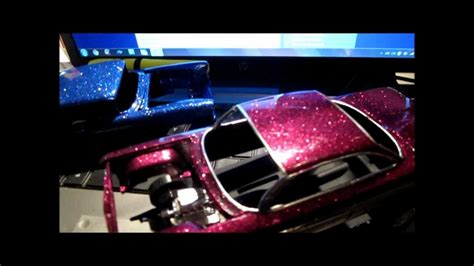 metal flake model car paint 2