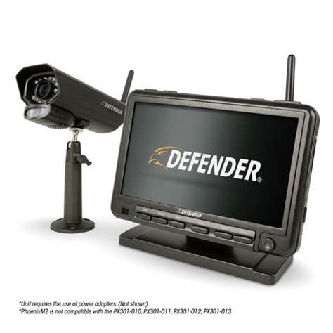 defender digital wireless security system with night