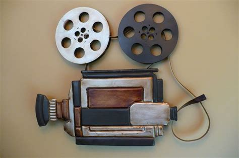 home movie theater decor ideas movie reels for movie metal movie theater wall art camera and reels home theatre