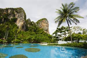 Rock Climbing Bedroom Rayavadee Resort Krabi Thailand