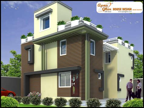Duplex House Front Elevation Designs Collection With Plans | duplex house front elevation designs collection with plans