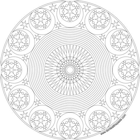 offerings of a year of moon mandalas books mandala coloring pages coloring rocks