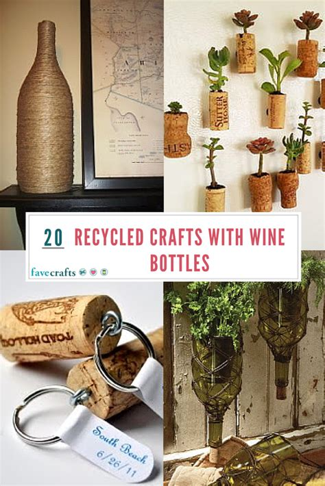 wine bottle crafts 20 recycled crafts with wine bottles favecrafts