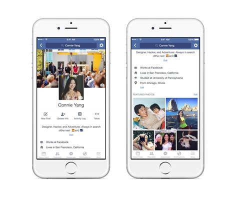 biography in facebook facebook is testing video profile pictures a bio field