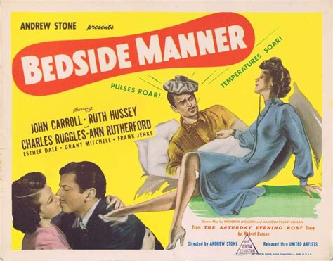 bedside manner title lobby card 2 carroll