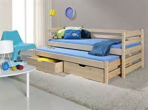 brand new children bunk bed marcin i with trundle bed - Bunk Beds With Mattresses Included