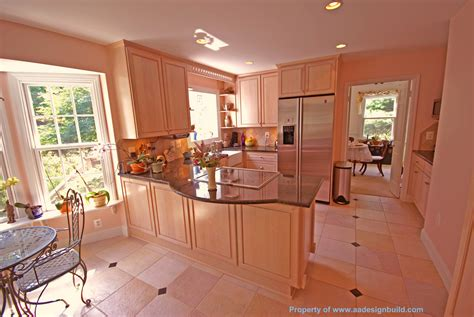 How To Make A Kitchen Peninsula by Www Aadesignbuild Custom Kitchen Design And Remodeling