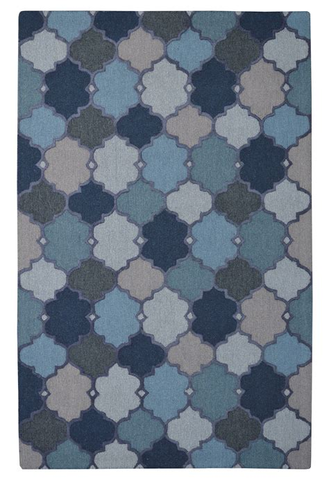 moroccan trellis rug blue moroccan trellis dot n knot blue rug 5 x 8