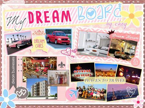 design a dream board scrapbook type pink and kikay peg dream board design