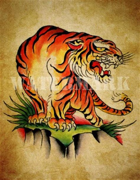 old school tiger tattoo 17 best images about draws designs on
